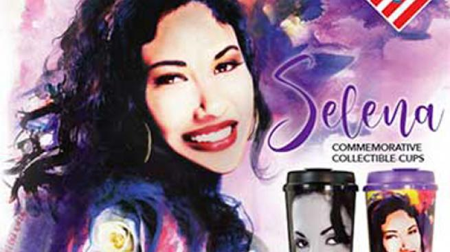 Stripes Unveils 2018 Commemorative Cups Honoring Selena's Legacy
