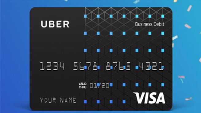 Uber Visa Debit Card