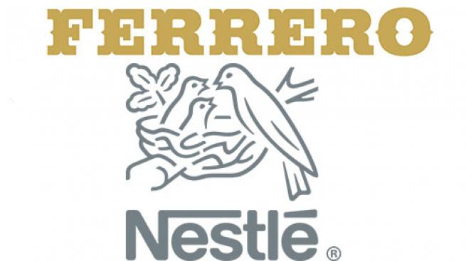 Ferrero and Nestle logos