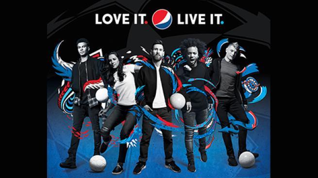 """PepsiCo's """"LOVE IT. LIVE IT. FOOTBALL."""" campaign"""
