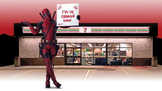Deadpool at 7-Eleven teaser