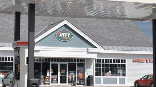 A Jiffy Mart convenience store
