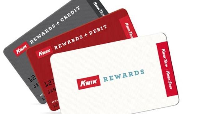 Kwik Trip Kwik Rewards cards