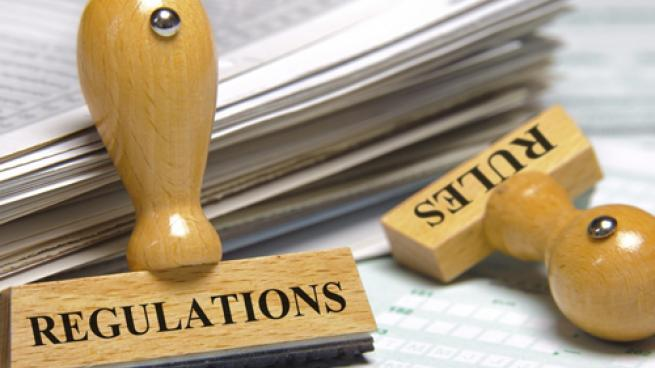 regulation and legislation stamps