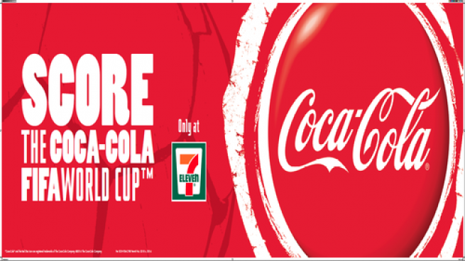 7-Eleven and Coca-Col World Cup promo