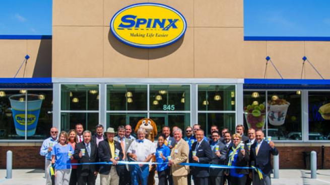 Spinx cut the ribbon on its newest store at 845 Jedburg Road in Summerville, S.C. on May 3.