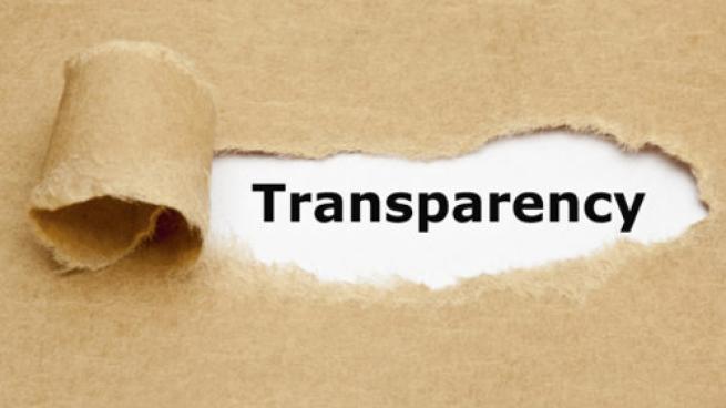transparency label tear