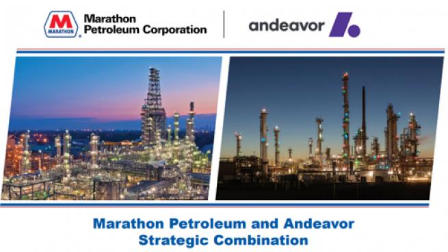 The Marathon and Andeavor merger