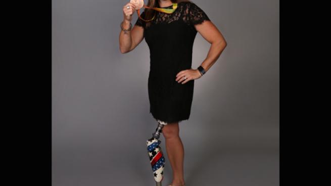 Motivational speaker Melissa Stockwell