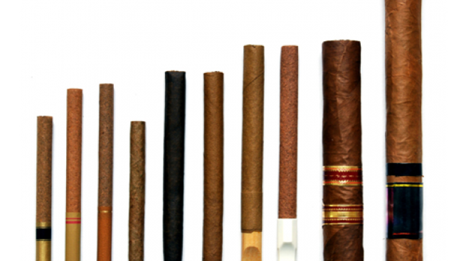 different kinds of cigars