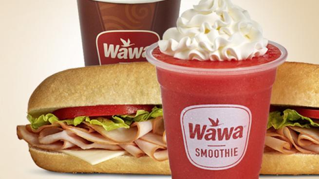 Wawa menu items