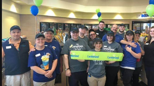 Cumberland Farms celebrated the grand opening of Store #1703 in Troy, N.Y.