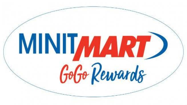 Minit Mart GoGo Rewards logo