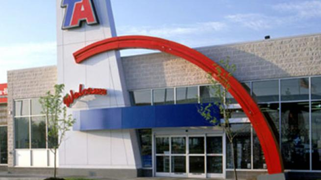 TA Travel Center exterior