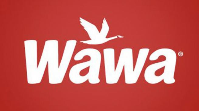 Wawa logo on red background