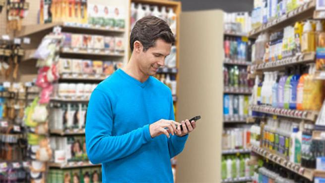 male shopper and an omnichannel approach