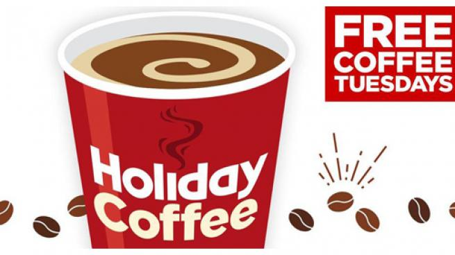 Holiday Stationstores Free Coffee Tuesdays