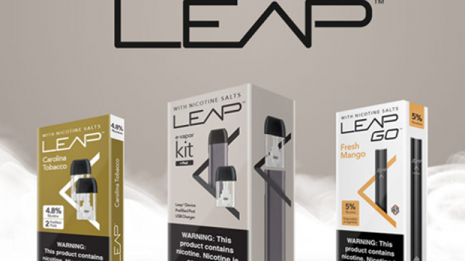 Leap Nicotine-Salts-Based Vapor System | Convenience Store News