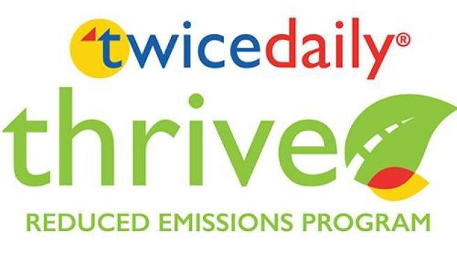 Twice Daily Thrive logo