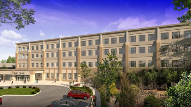 Speedway LLC's Headquarters Expansion Rendering
