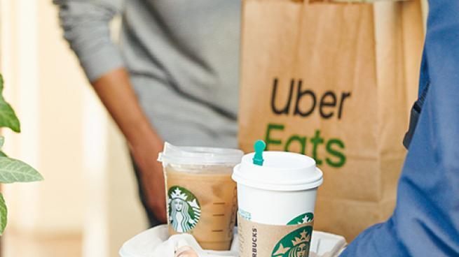 Starbucks Delivery with Uber Eats