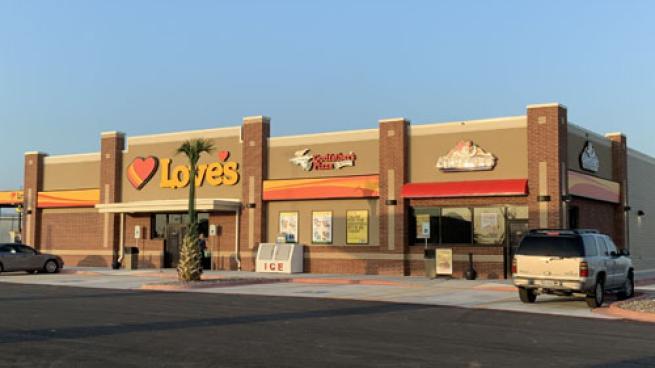 Love's Travel Stop in Brownsville, Texas
