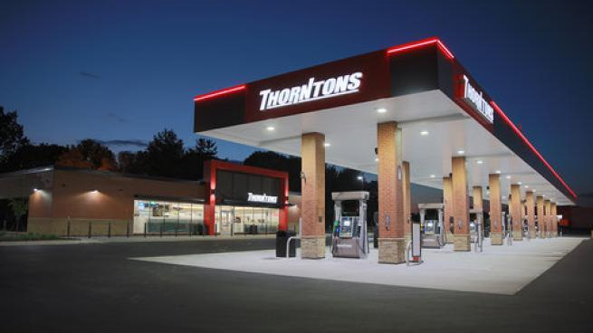 Thorntons location