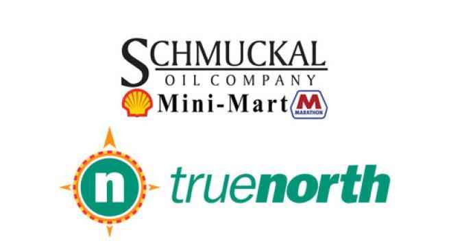 Schmuckal Oil Co. and True North Energy logos