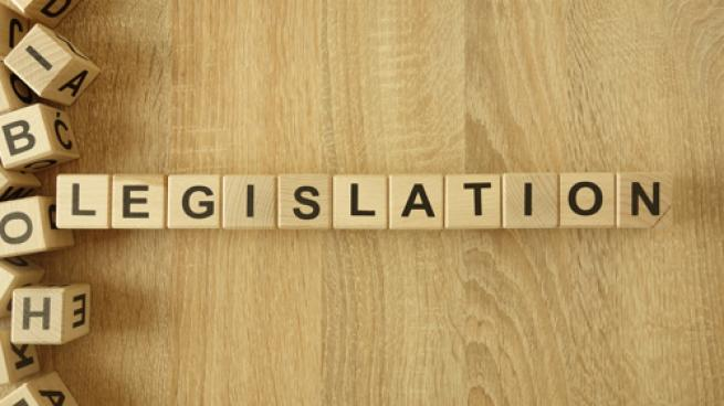 Legislation in scrabble tiles