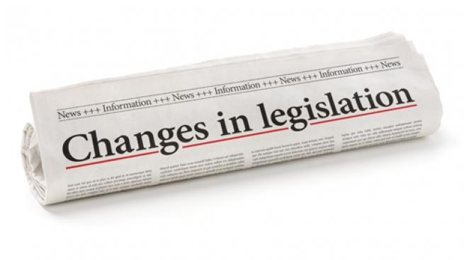 Legislative changes headline