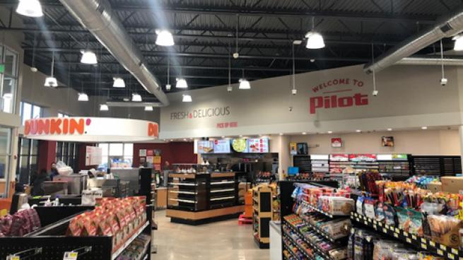 Pilot Flying J opened a Pilot Travel Center in Andrews, Texas in early November