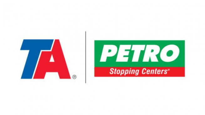 Logos for TravelCenters of America banners