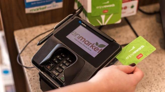 Enmarket Enjoy Rewards card