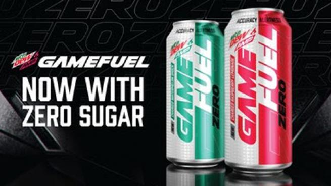 MTN DEW AMP GAME FUEL Zero