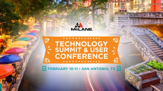 McLane Technology Summit and User Conference