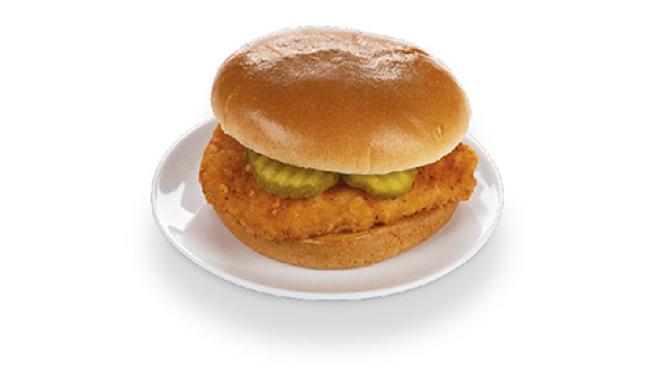 Krispy Krunchy Chicken Classic Sandwich