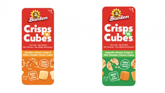 Borden Cheese Crisps 'n Cubes
