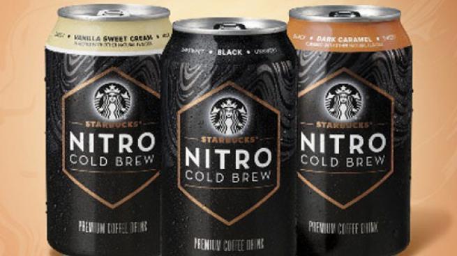 Starbucks Ready-to-Drink Nitro Cold Brew