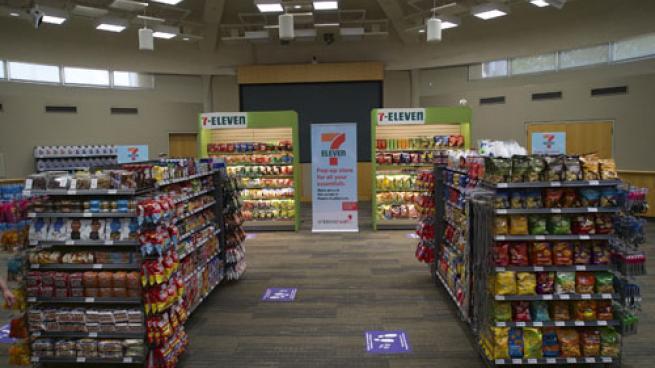 7-Eleven's pop-up convenience store at Children's Health