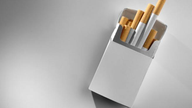 A pack of cigarettes