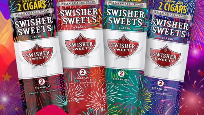 Swisher Sweets Original Red Collectible Summer Pouches