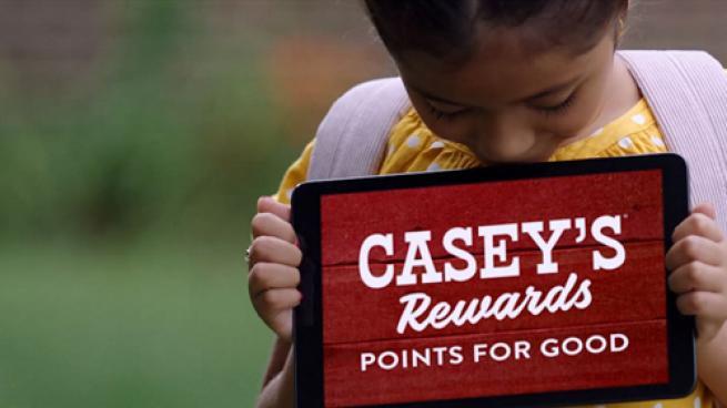 Casey's Rewards advertisement