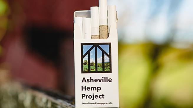 Asheville Hemp Pre-Rolled Cigarettes