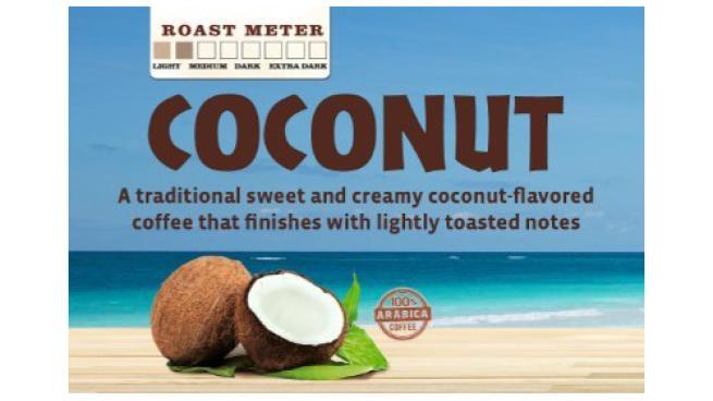7-Eleven coconut coffee