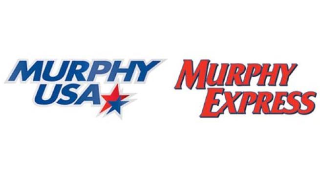 Logos for Murphy USA and Murphy Express
