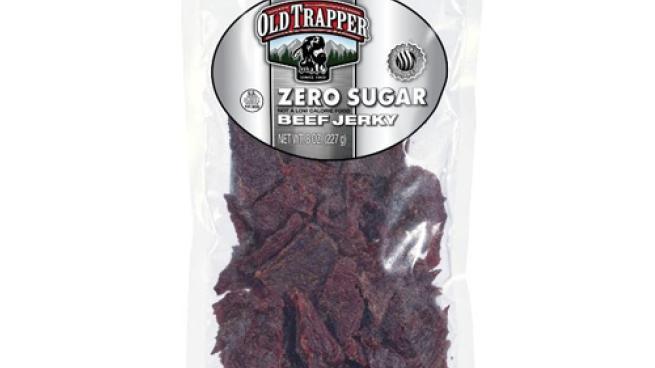 Old Trapper Zero Sugar Beef Jerky