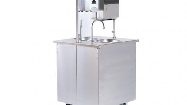 Vollrath Double-Sided Hand Washing Station