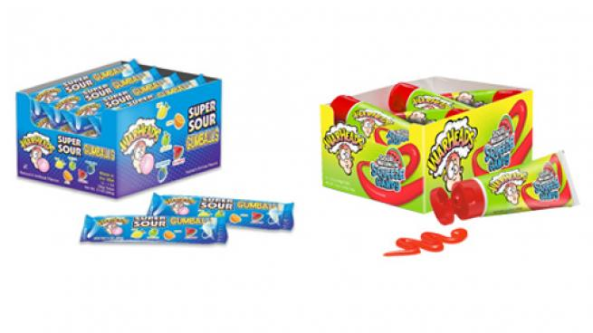 WARHEADS Bubble Gum and Candy