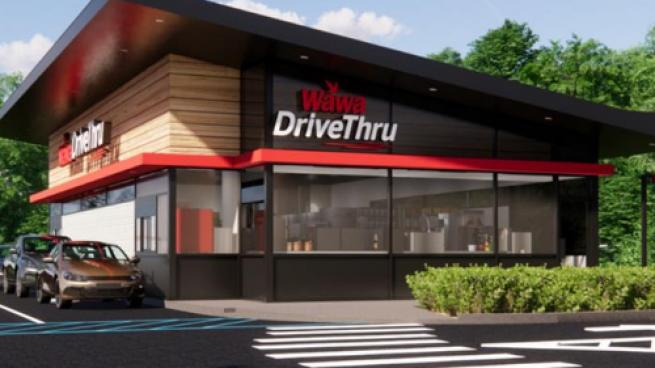 Wawa freestanding drive-thru