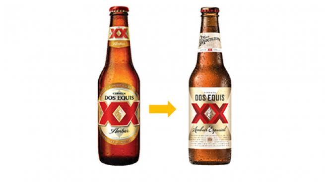 Dos Equis redesign